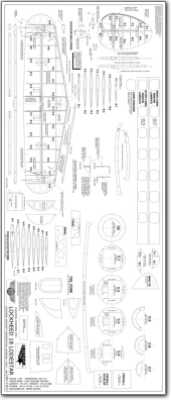 Lockheed Model 18 Lodestar 1 8 Plans Jb Laser Cut