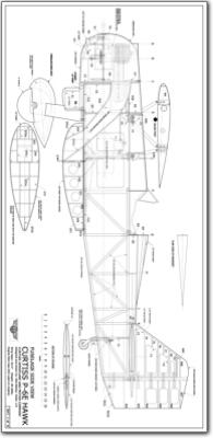Curtiss P 6e Hawk 1 4 Plans Jb Laser Cut Kits