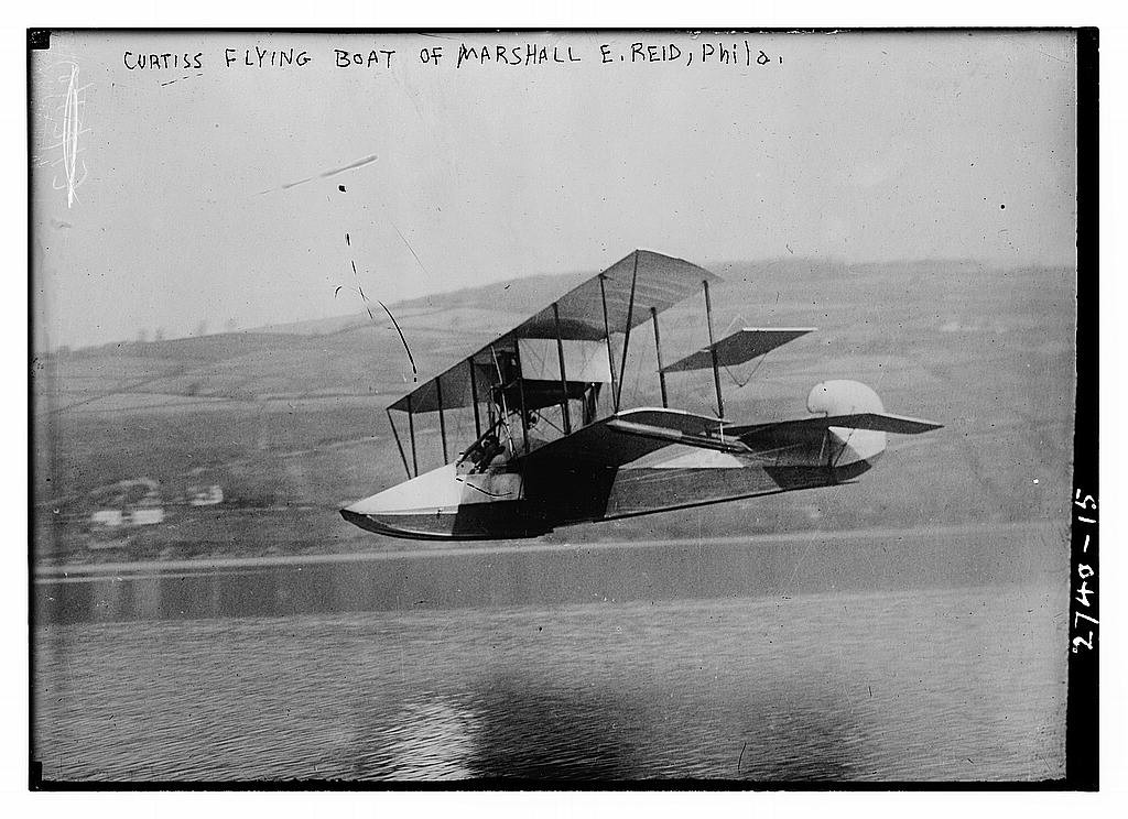 Curtiss 1914 F Boat {1/5} - Plans (GM)