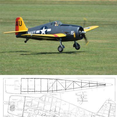 Grumman F6F Hellcat {1/5 3} – Laser Parts Kit (NZ) | Laser